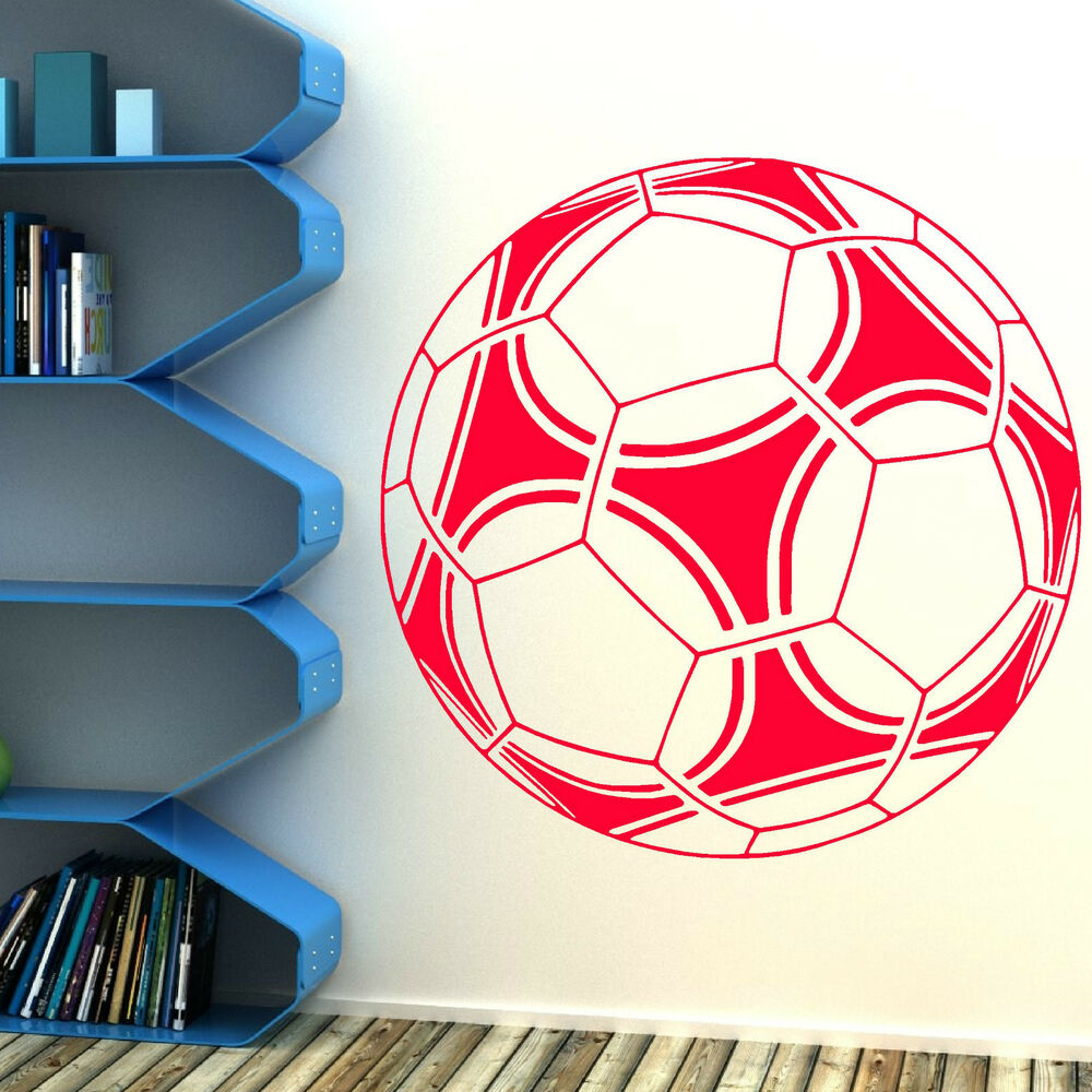 Football Large Vinyl Wall Art Sticker Classroom Boys Room