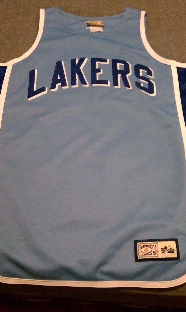 fb4eb3ac1 Majestic Hardwood Classic Los Angeles Lakers Jersey Size XL Used Great  Shape NBA
