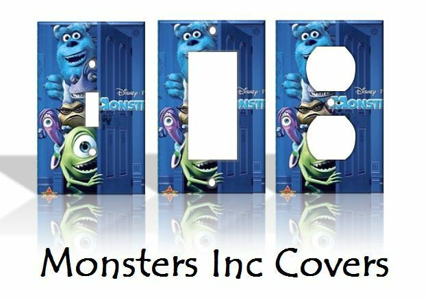 home decor outlet inc monsters inc light switch covers disney home decor outlet 11072