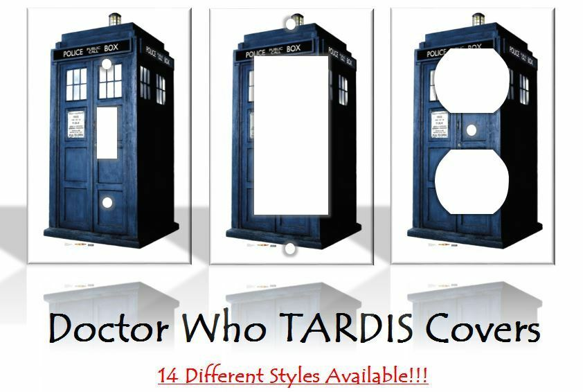 Dr Doctor Who Tardis Light Switch Covers Home Decor Outlet Home Decorators Catalog Best Ideas of Home Decor and Design [homedecoratorscatalog.us]