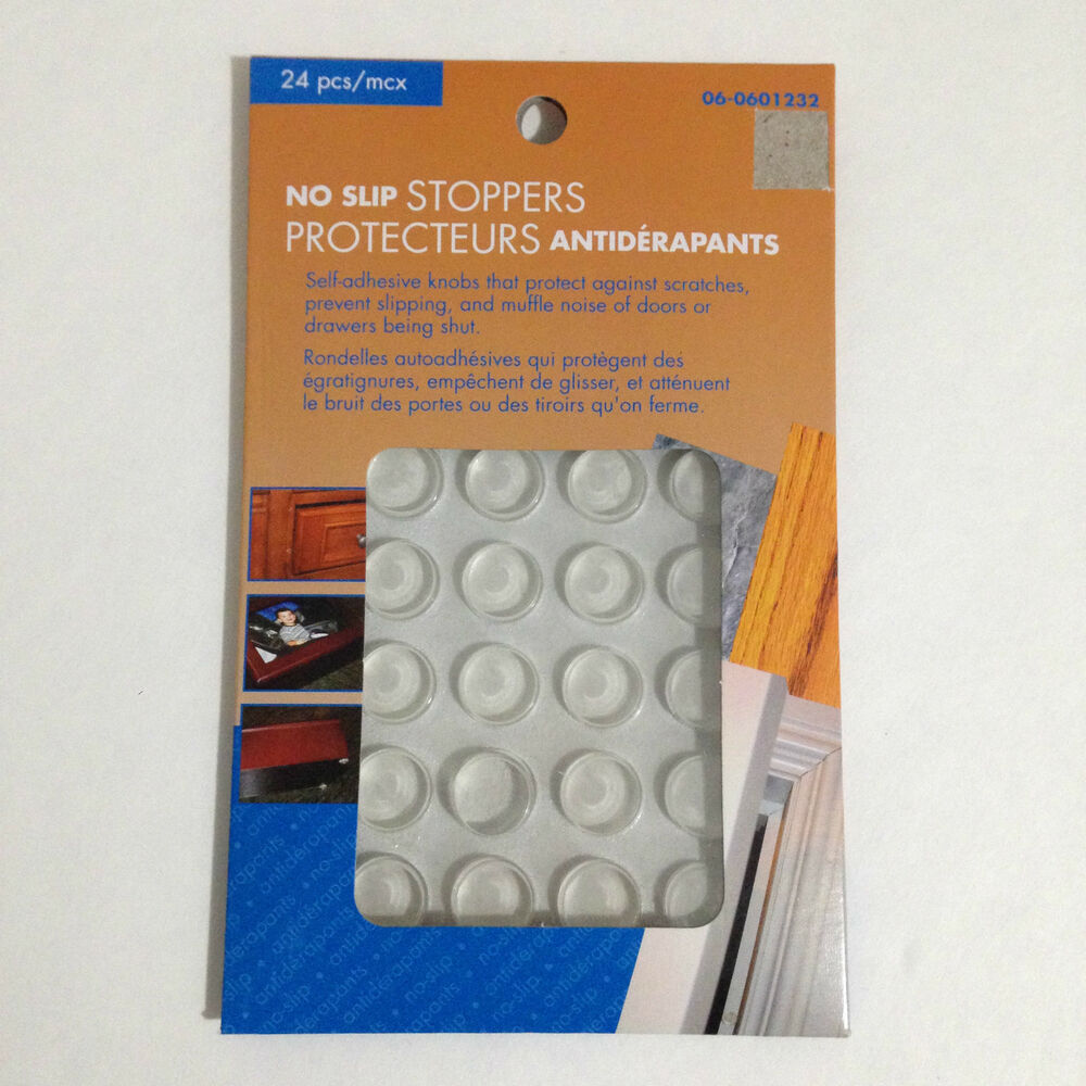 Kitchen Cabinet Pads: New 24 Pack Clear Rubber Kitchen Cabinet Doors Drawers