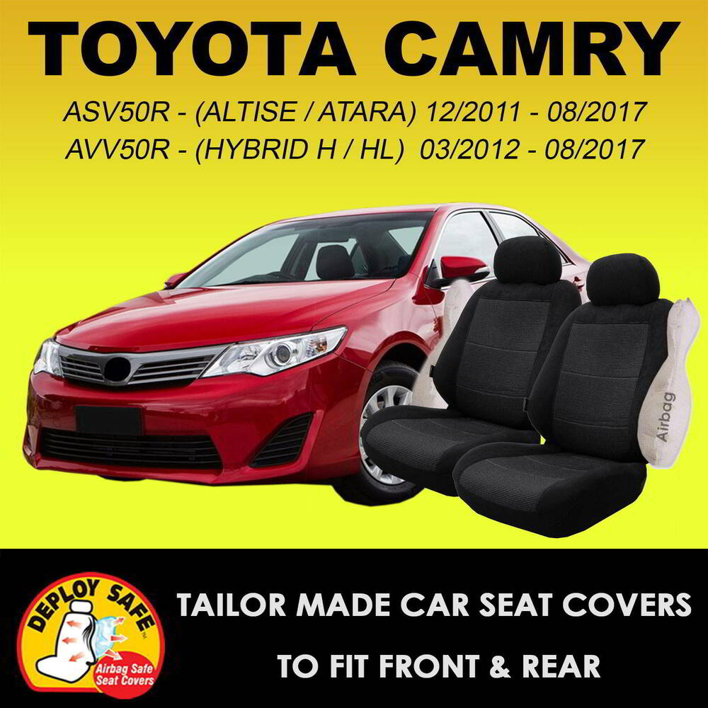 Car Seat Covers Toyota Camry