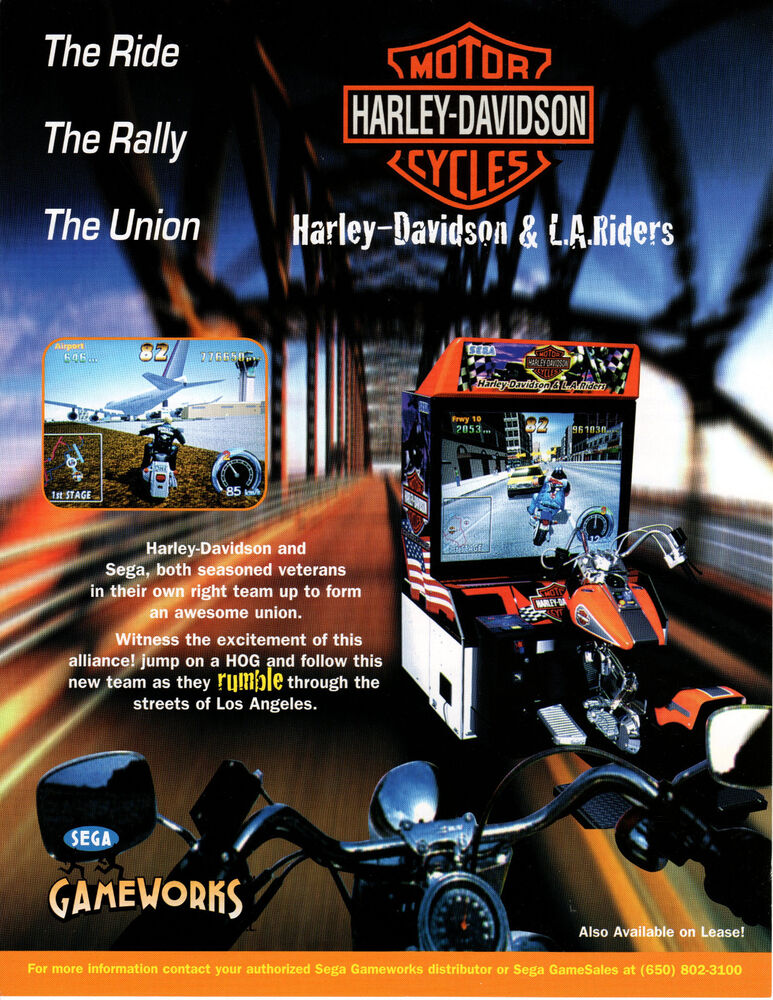 HARLEY-DAVIDSON & L.A. RIDERS Motercycle Original VIDEO ...