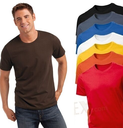 hanes mens plain summer weight cotton tee t shirt s 3xl no. Black Bedroom Furniture Sets. Home Design Ideas