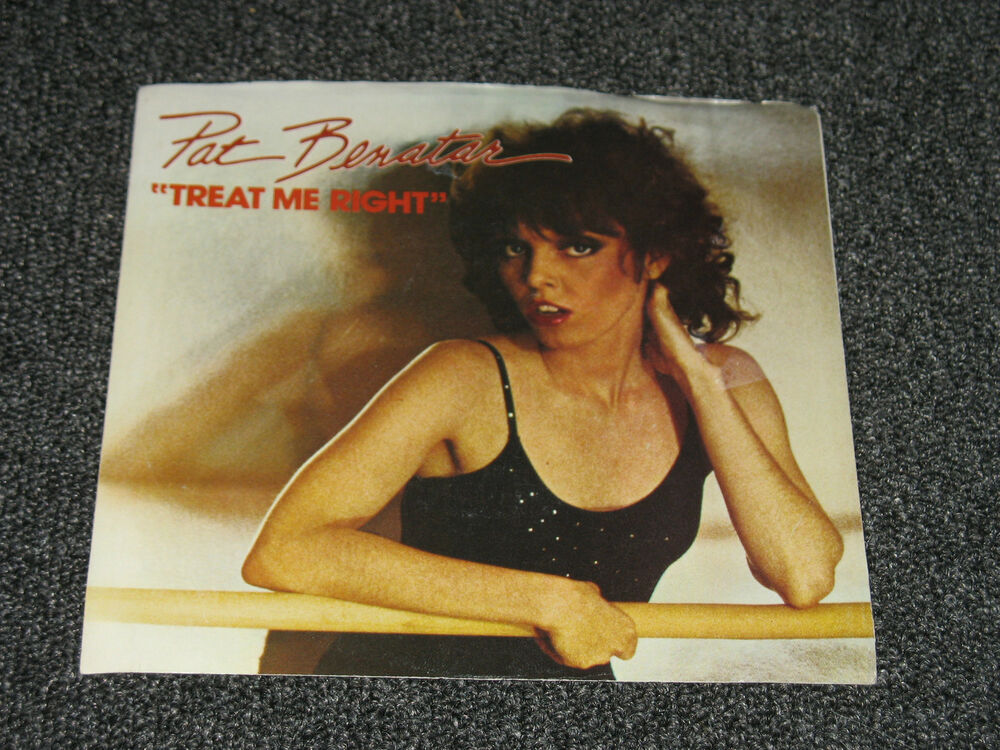 pat benatar quot treat me right quot sleeve only chs2487 ebay