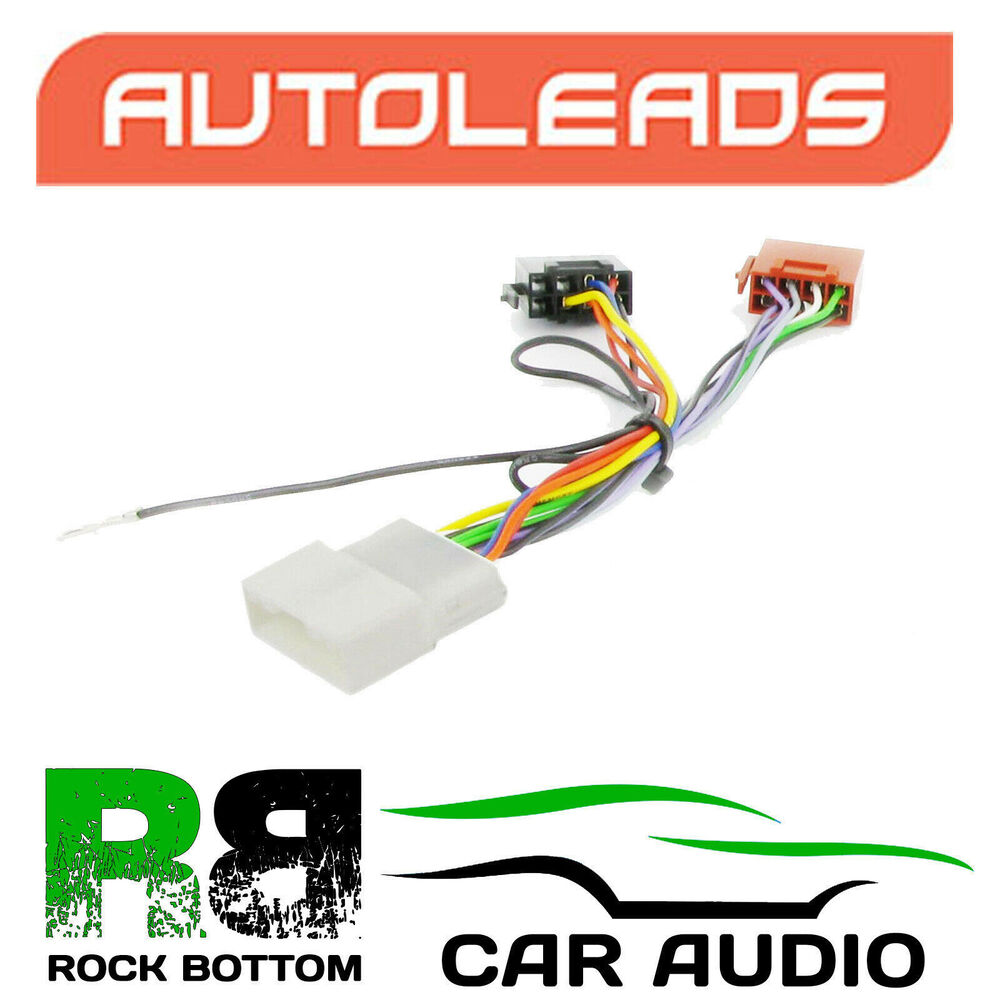 Nissan Note Wiring Harness : Autoleads pc nissan note car stereo iso adaptor