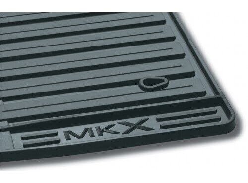 Oem New 2007 2010 Lincoln Mkx All Weather Vinyl Floor Mats Rubber Charcoal Black Ebay