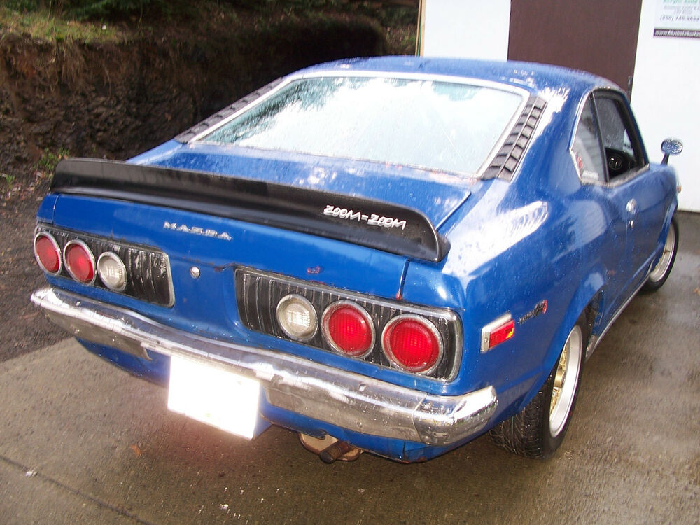 Celica Trd >> JDM Mazda RX3 RX-3 808 Coupe flush ducktail wing spoiler TRD style rotary | eBay