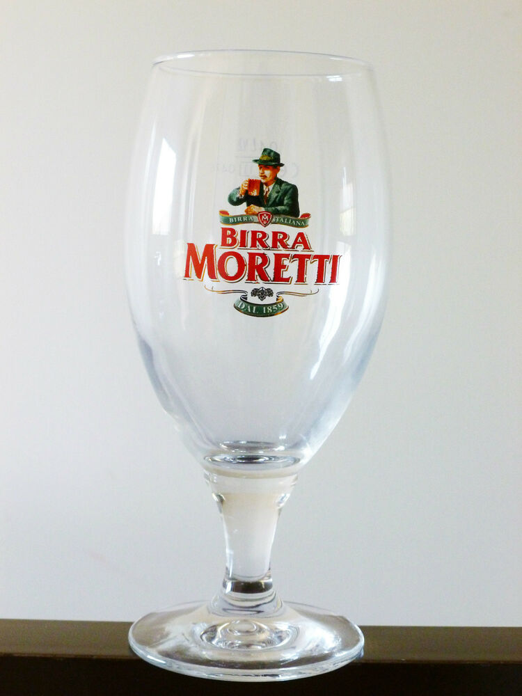 Buy Birra Moretti Glass