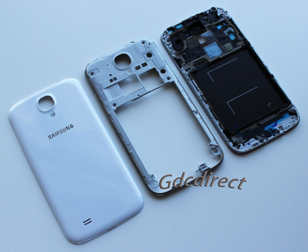 OEM Samsung Galaxy S4 i9500 Full Housing Cover Frame Door ...