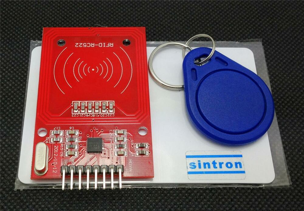 Sintron rc rfid reader module tags with spi for