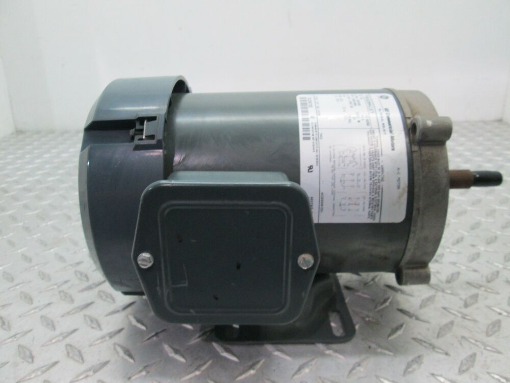 Ge commercial motors a c motor k630 3 4 hp 3450 2850 rpm for 1 20 hp electric motor