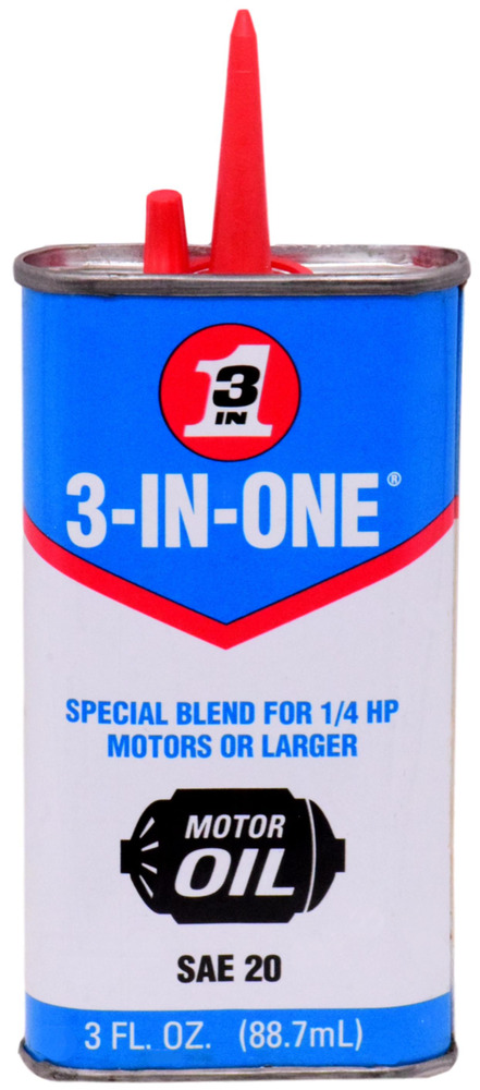 wd 40 3 in one sae 20 motor oil 1 4 hp motors or larger