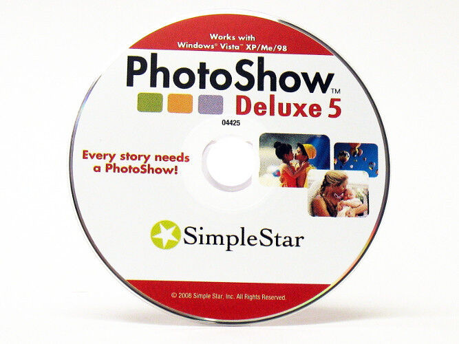 Photoshow deluxe 5.0 simple star download