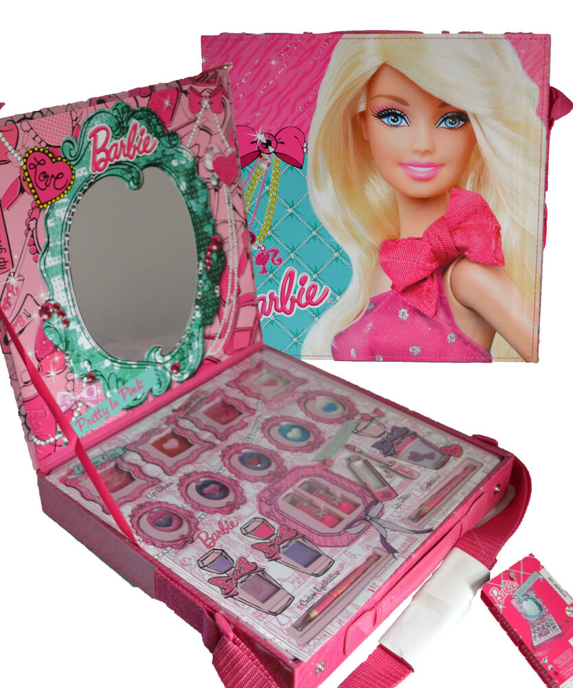 BARBIE! MAKEUP ARTIST LARGE CASE! PERFECT LITTLE GIRL ...