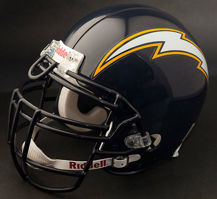 San Diego Chargers Football Record: JUNIOR SEAU Edition SAN DIEGO CHARGERS Riddell REPLICA