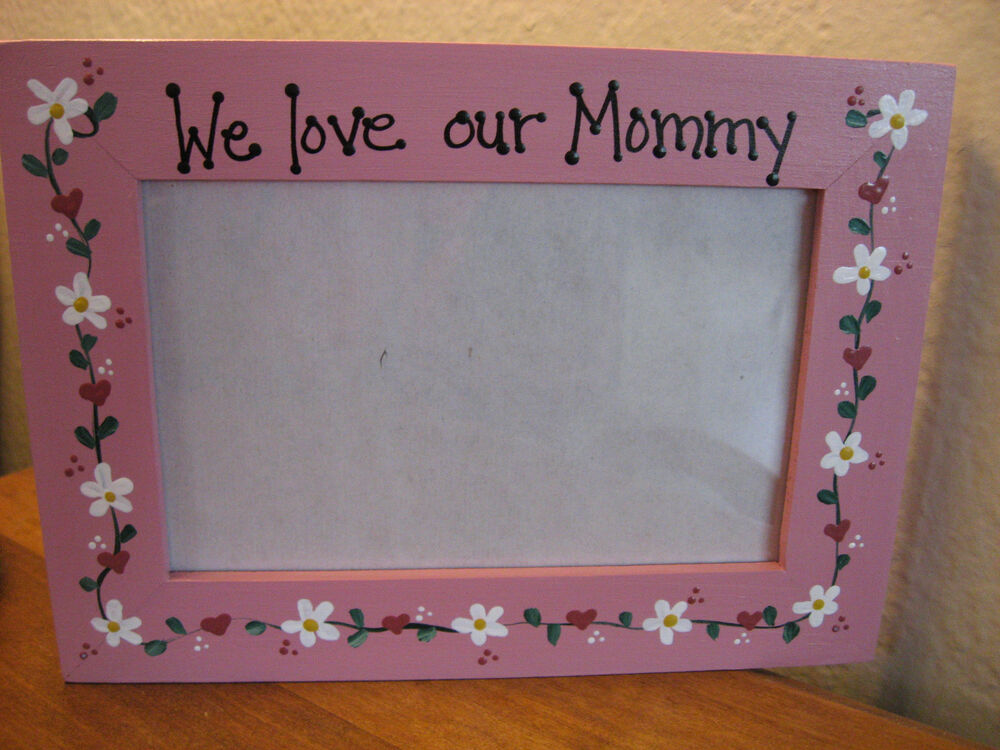 We Love Our Mommy Mother Grandma Mothers Day Photo Picture Frame Ebay