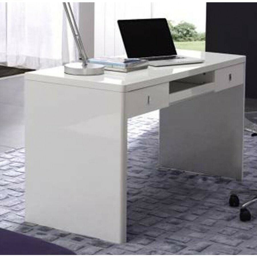 Aquila Mxt2 08 Gloss White Home Office Desk Computer Desk