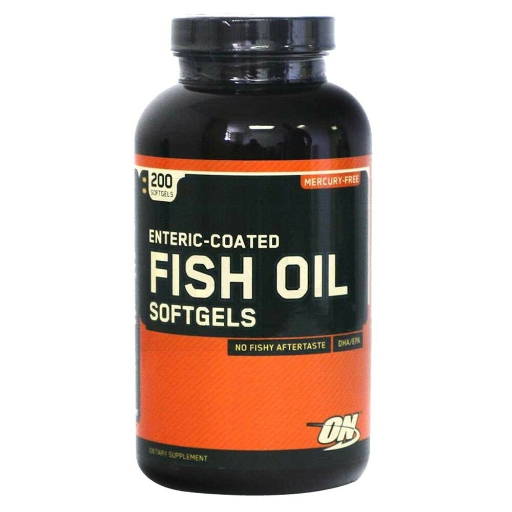 Optimum nutrition fish oil 200 softgels capsules 300mg for What are fish oil pills for