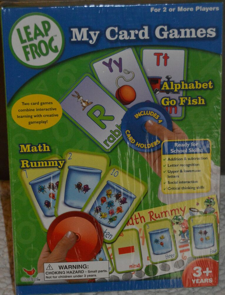 Leap frog my card game go fish math rummy alphabet for Card game go fish