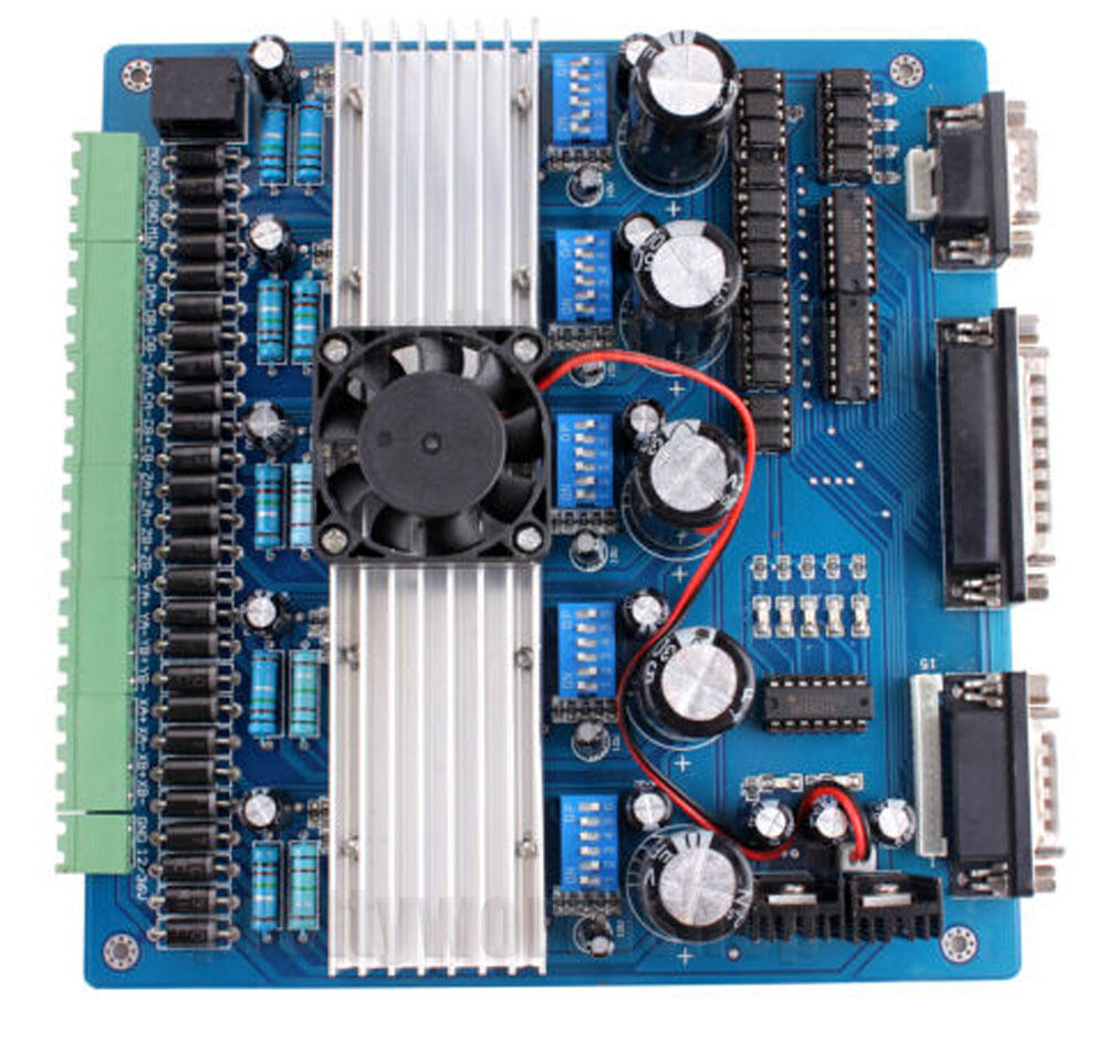 5 axis cnc tb6560 stepper motor driver controller board for Cnc stepper motor controller