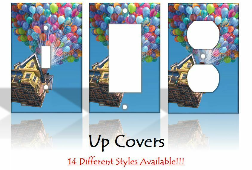 Up balloons disney light switch covers handmade home decor for Home decor outlet 63125