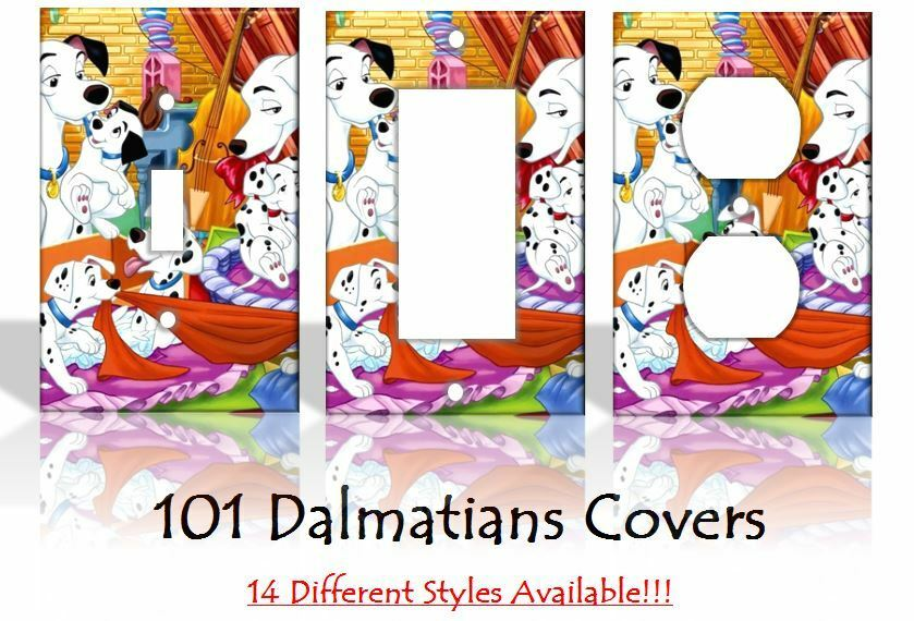 101 dalmatians disney light switch covers handmade home for Home decor 101