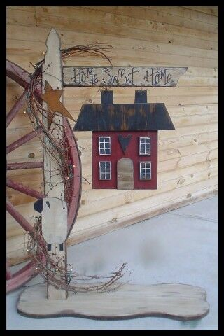 wooden craft ideas patterns primitive wood craft pattern quot lighted home sweet home post 5767