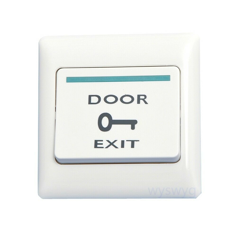 86mm wall mount door exit button push release switch for for Door access controller
