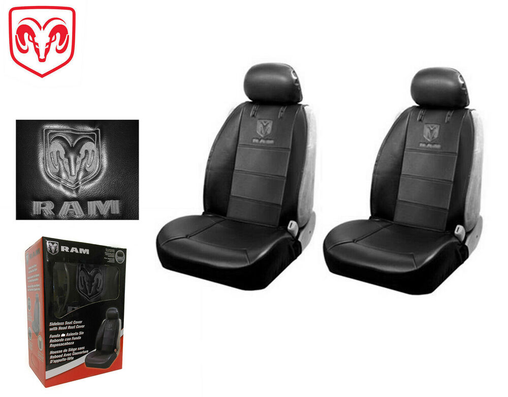 Dodge Logo Car Seat Covers