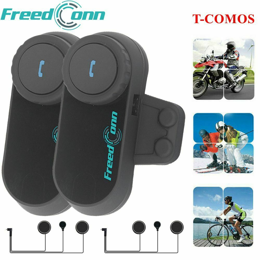 2x bt interphone intercom casque helmet bluetooth pour moto motorcycle 500m ebay. Black Bedroom Furniture Sets. Home Design Ideas