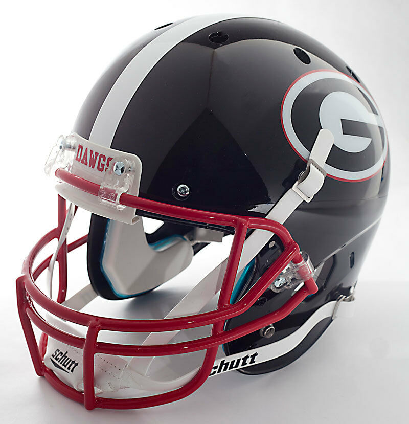 georgia bulldog helmets georgia bulldogs schutt air xp gameday replica football 8934