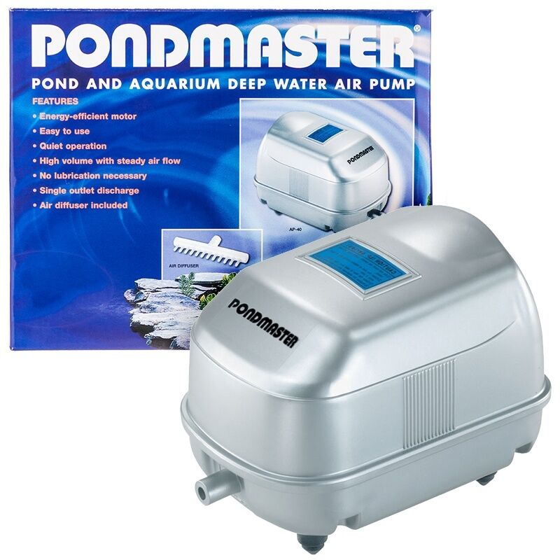 Pondmaster Ap 40 Air Pump Koi Pond High Air Flow Ebay