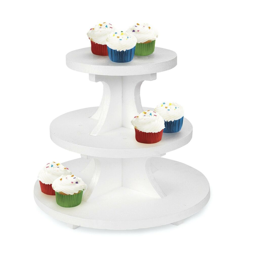 How To Make A Cupcake Wedding Cake Stand