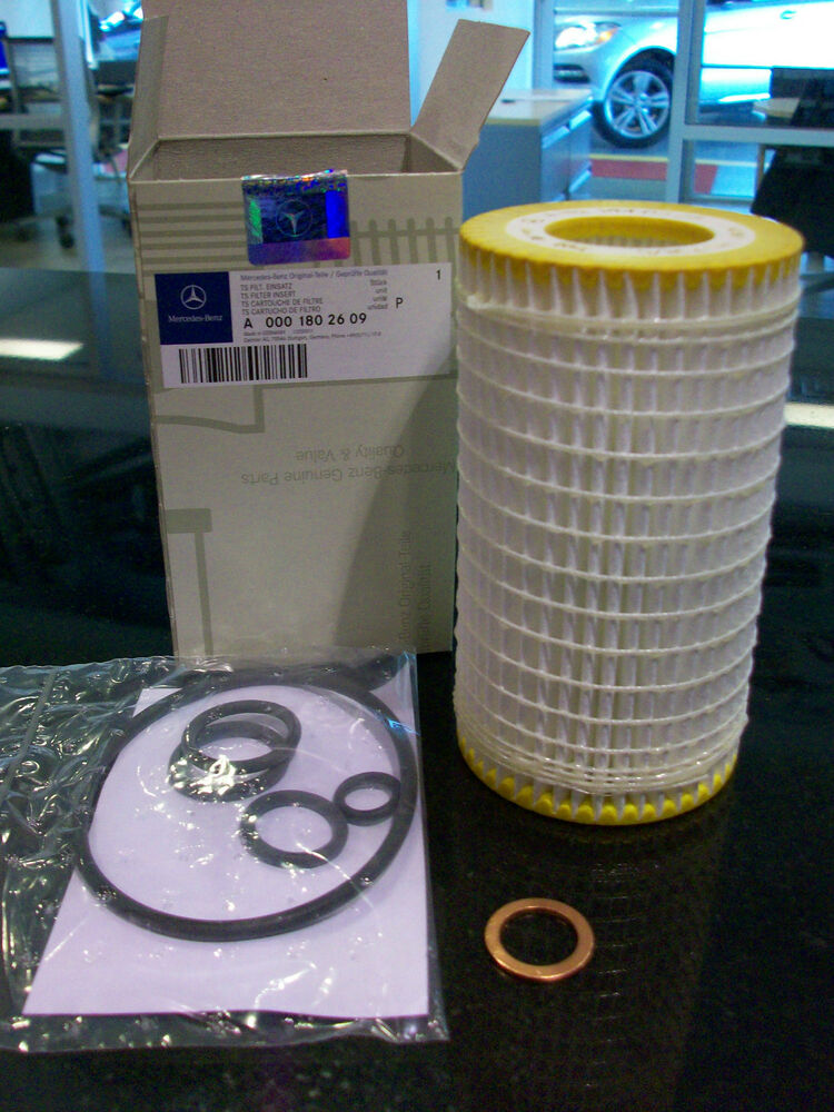 Oem genuine mercedes benz cabin and oil filter b service for Mercedes benz oil filters