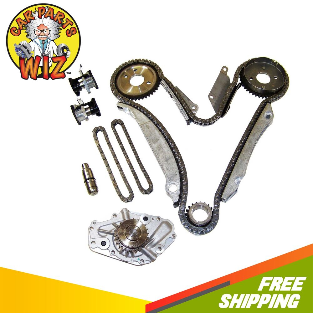 Timing Chain Water Pump Kit Fits 00-02 Chrysler Dodge 2.7L