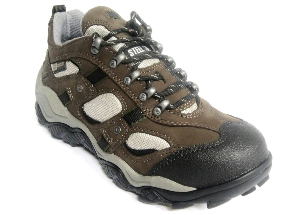 Caterpillar DIFFUSE Steel Toe EH Mens Work U0026 Safety Shoes Sneakers | EBay