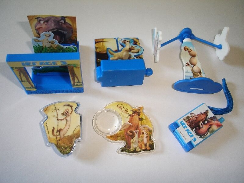Toys From Ice Age 1 : Ice age toys kinder surprise figures collectibles