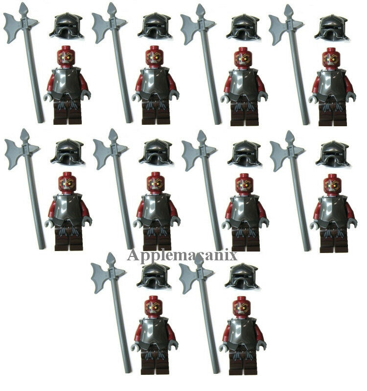 Orc Lord Of The Rings Uruk Hai 10 NEW LEGO 9471 Lord ...