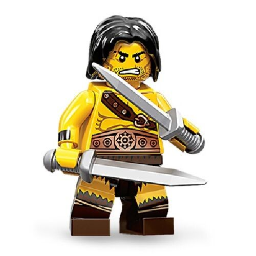 (NEW) LEGO - Minifigures Series 11 #1 - The Barbarian | eBay