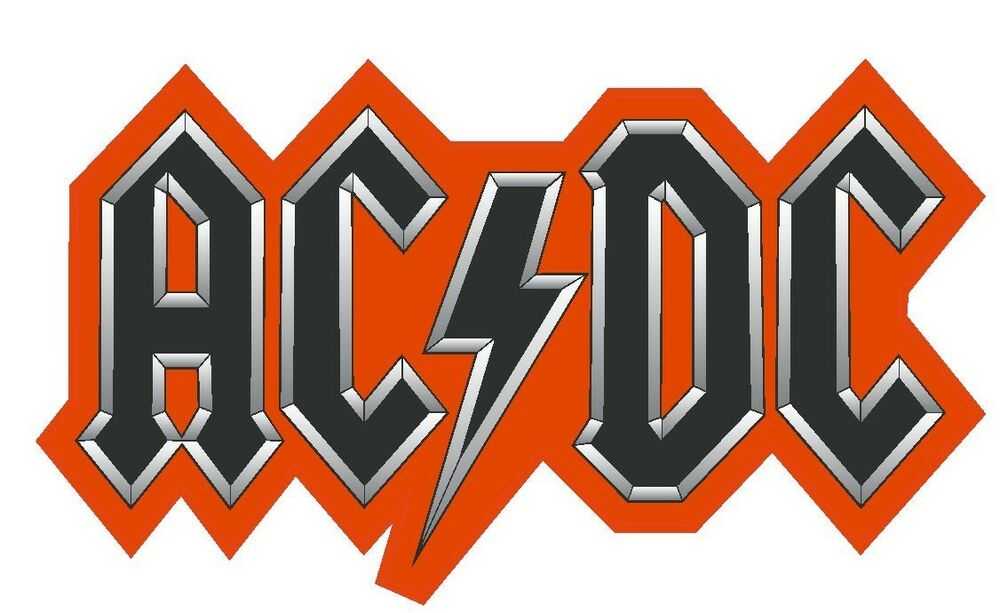 Ac Dc Sticker Music Bands R206 Choose Size From Dropdown