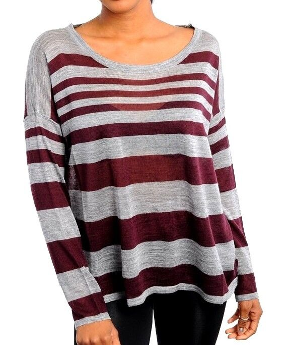 Blue and burgundy striped mens sweaters opinion the