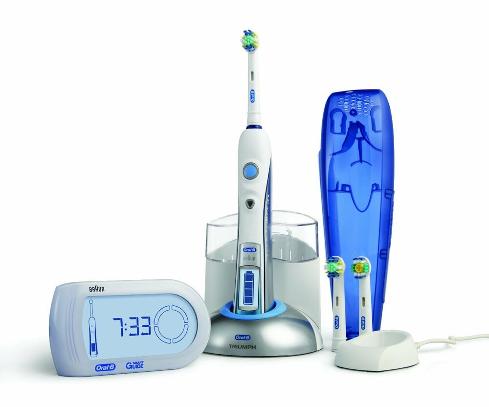 Braun Oral-B triumph Professional Care 9900 Elctric toothbrush with Smart Guide | eBay