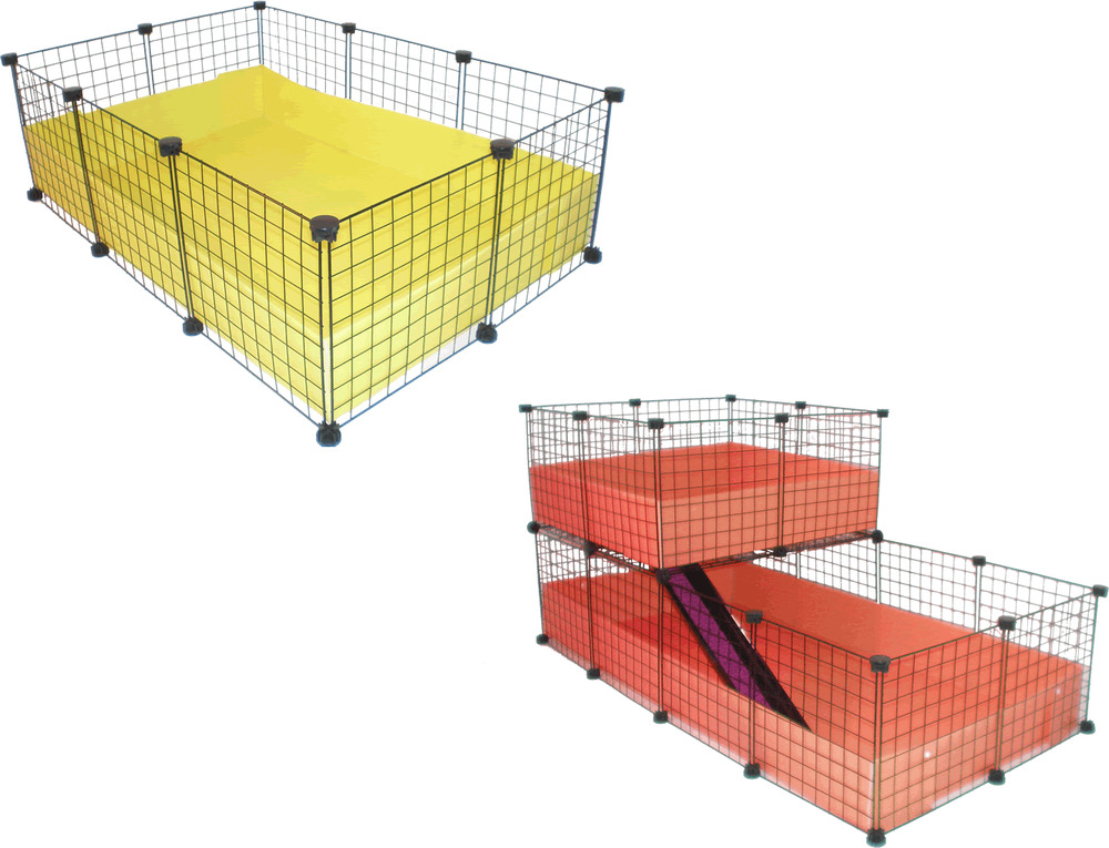 Black C Amp C Guinea Pig Cavy Large Indoor Play Pen Cage Metal