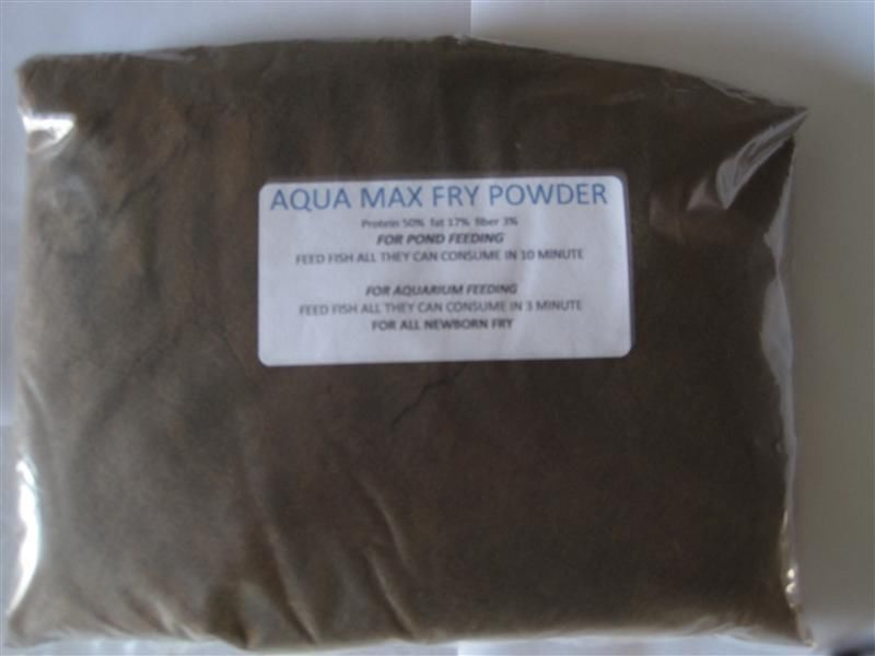 Purina aquamax fry powder fish food designed for newborn for Purina tropical fish food