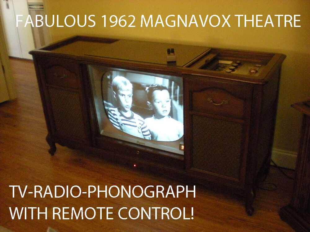 Vintage Magnificent Magnavox Stereo