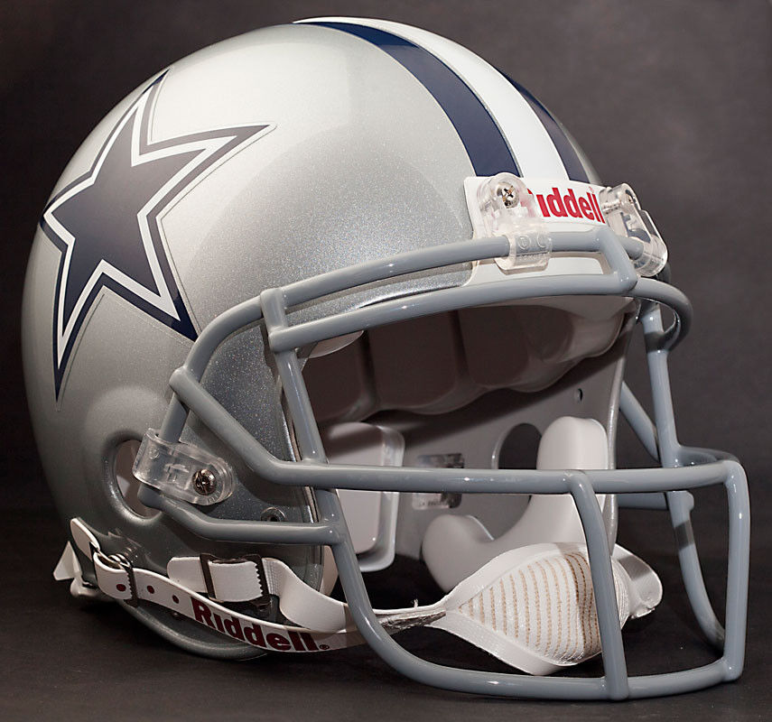 Dez Bryant Dallas Cowboys Schutt Ropo Sw Football Helmet