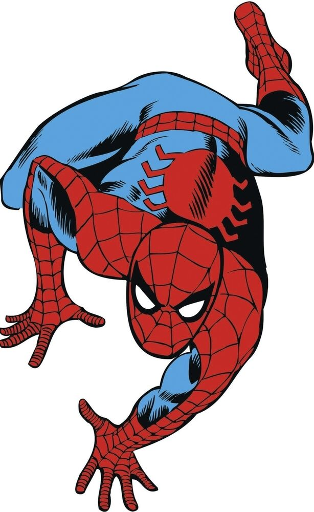 The amazing spider man classic giant peel amp stick wall decal 38 inches