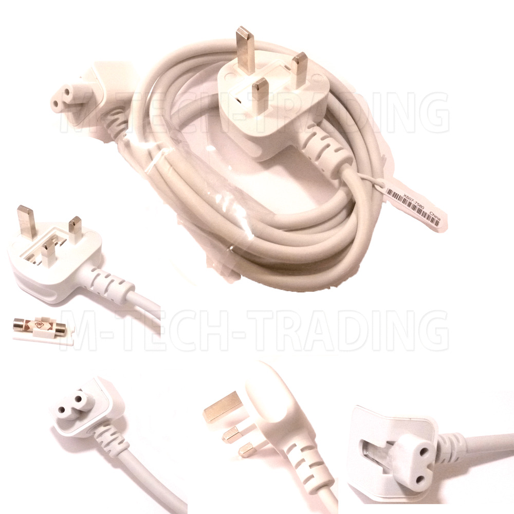 Genuine Apple Macbook Pro Airbook Uk Adapter Power Cable
