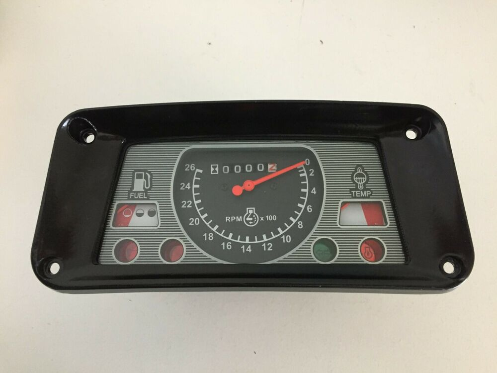 Ford Tractor Instrument Gauge Cluster 3400 3500 3550 4400